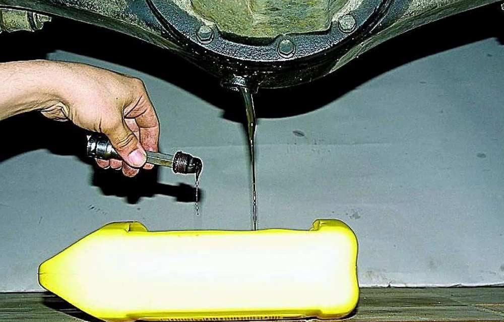 Масло в редуктор : проверка и замена, сколько и какое масло заливать