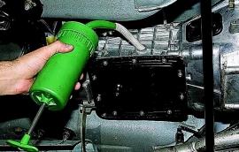 Замена масла в КПП Форд Транзит