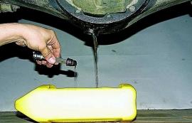 Замена масла в мостах Форд Транзит