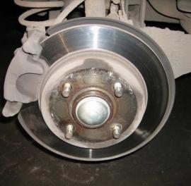Замена тормозных дисков Форд Транзит